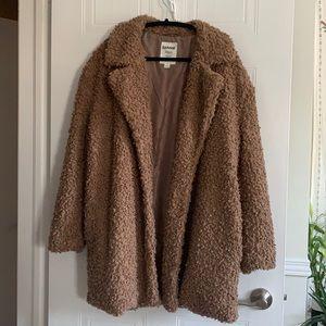 Garage Sherpa Coat